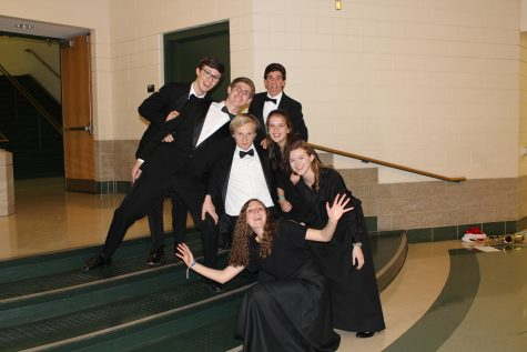 Behind the scenes: Holiday Band Concert