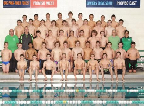 Boys swim and dive start strong