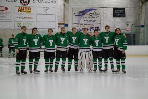 York Hockey honors departing senior players