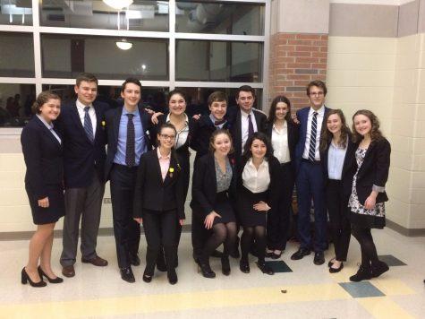 Speech team celebrates regional success