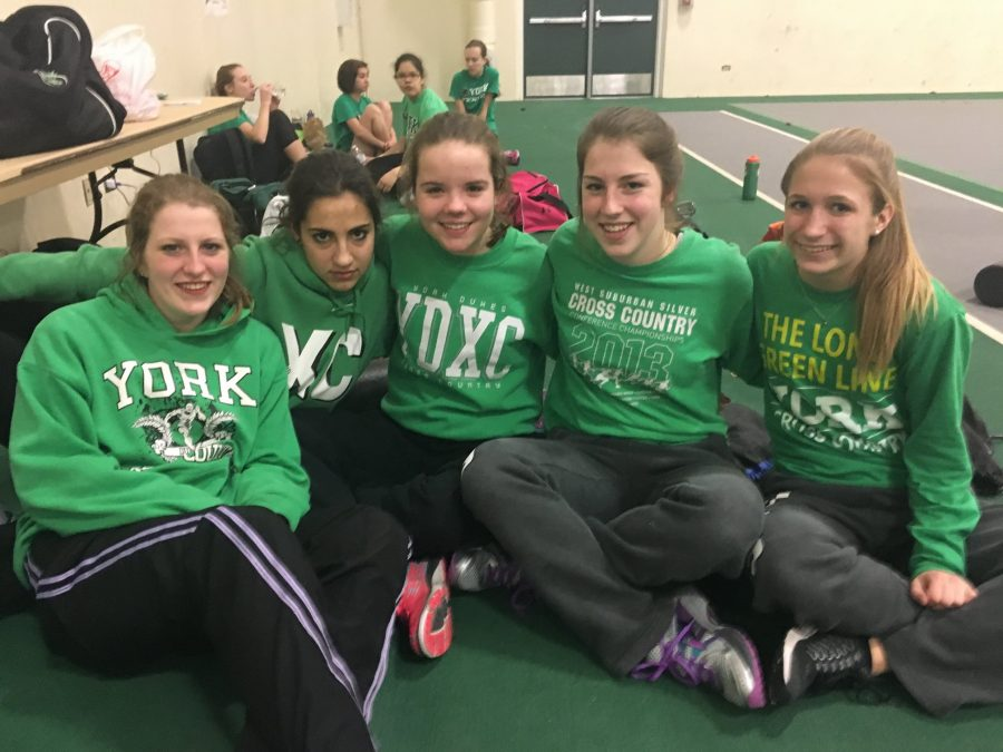 Girls track and field has promising first meet