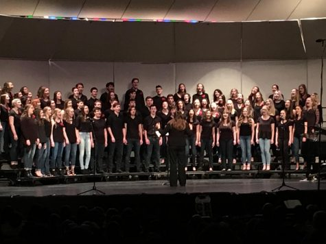 Choir salutes seniors goodbye at final concert of the year