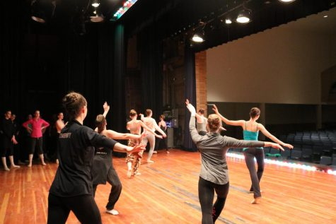 Behind the curtain: how dancers prepare for a show