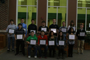 York Recognizes November Students of the Month