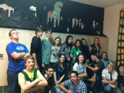 Japanese Culture and Animation Club vies for Best Decorated Hallway