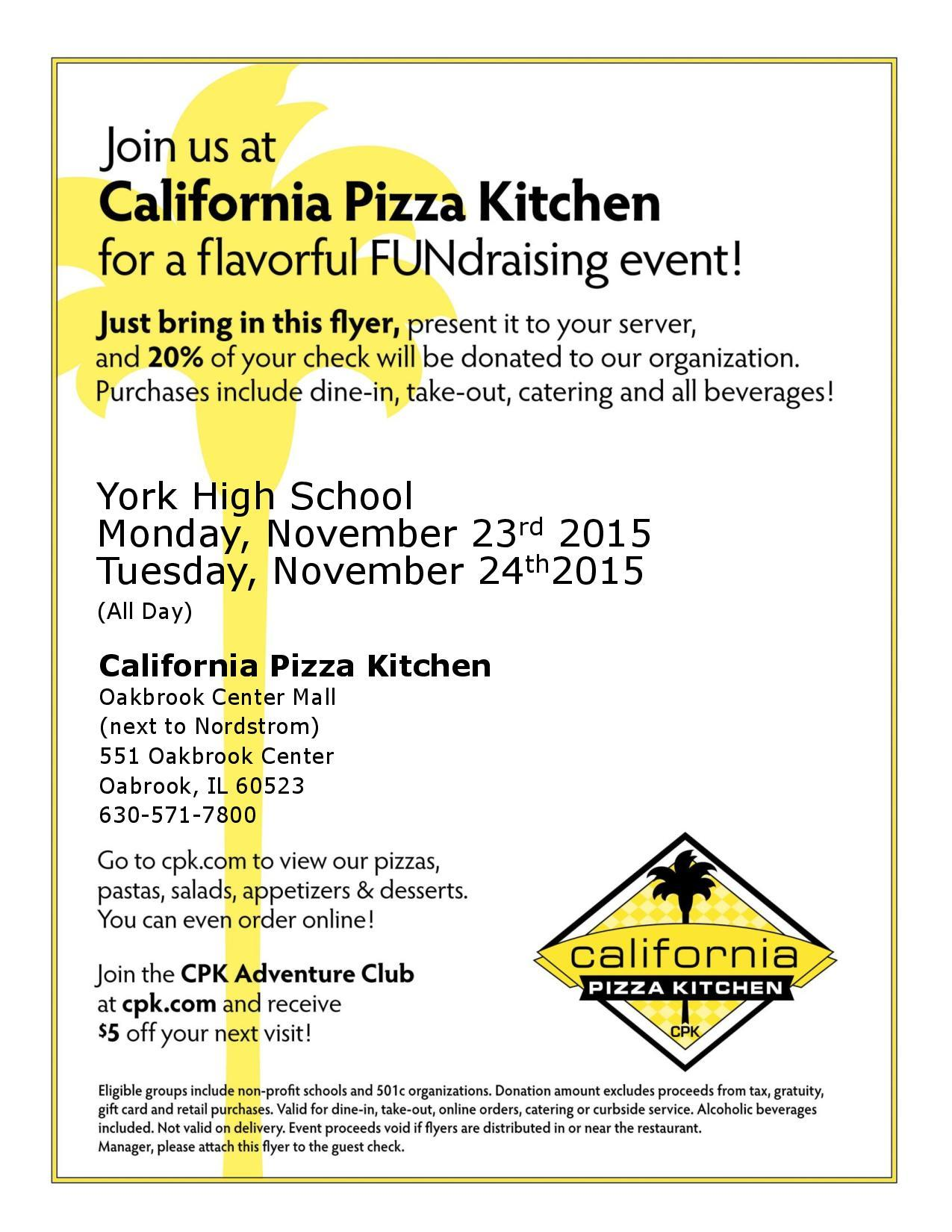 Prom CPK FUNdraiser – THIS IS YORK