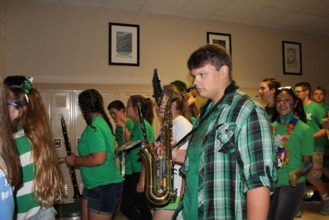 David Avello, junior, alto saxophone