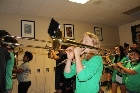 Melissa Drost, junior, trombone