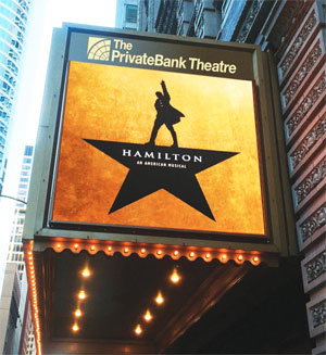 Hamilton opens in Chicago
