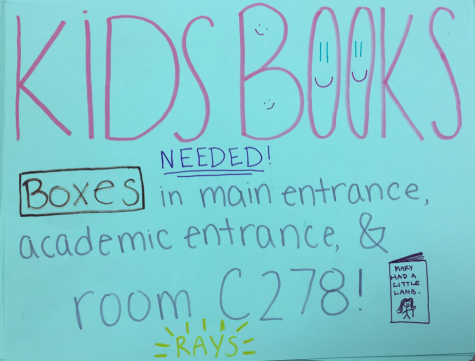 Donate to the RAYS Book Drive!