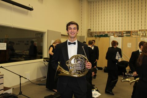 """Holiday music of course."" - Angelo Buscaglia (senior)"