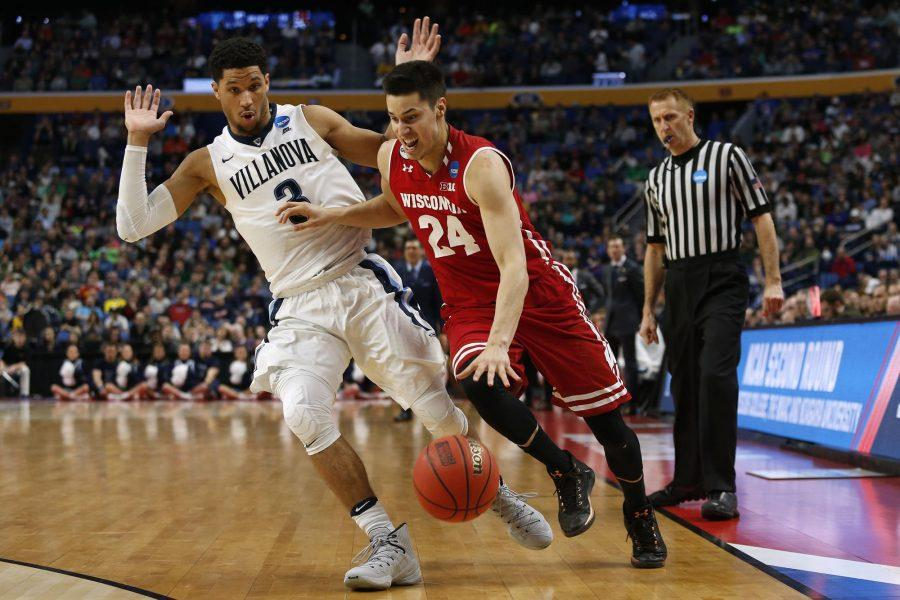 No. 8 Wisconsin upset No. 1 Villanova last weekend which busted many brackets