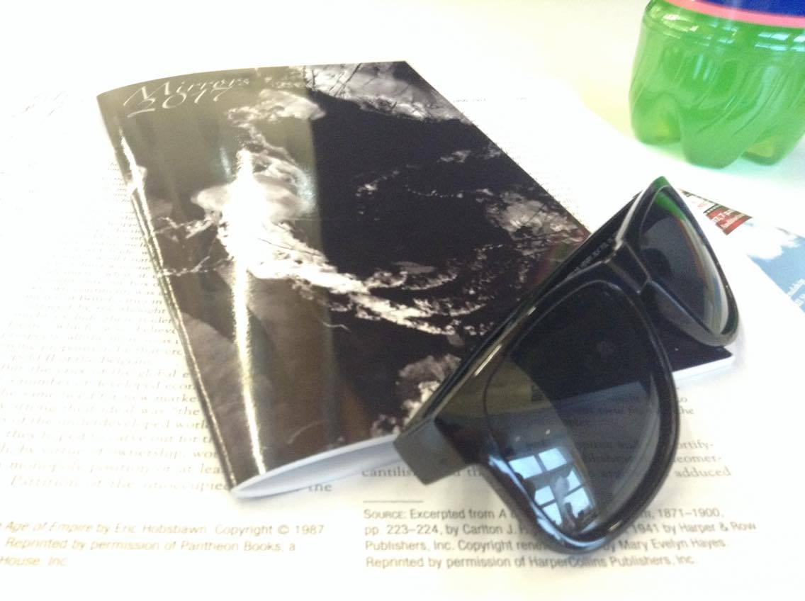 Mirrors+Literary+%26+Art+Magazine+hot+off+the+press.