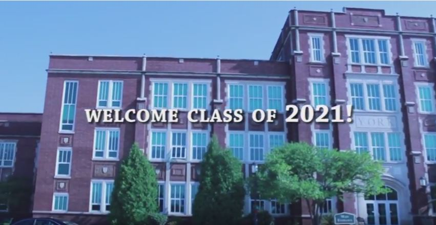 """""""Welcome to York"""" Freshman Day 2017"""