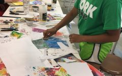 Alternative Art students explored countless art styles this summer