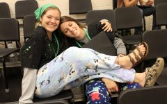 Homecoming spirit week: Pajama Monday