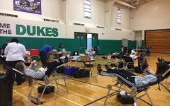 York students participate in blood drive