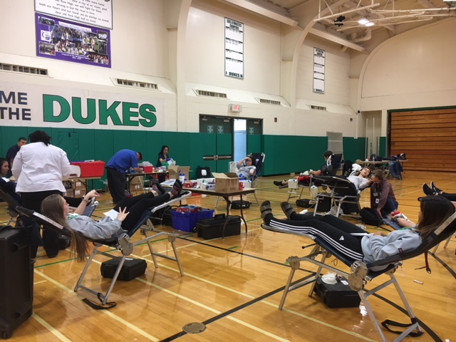 As+many+as+140+students+and+teachers+came+out+to+donate+blood+for+the+drive.+Thurs.%2C+Oct+19%2C+2017