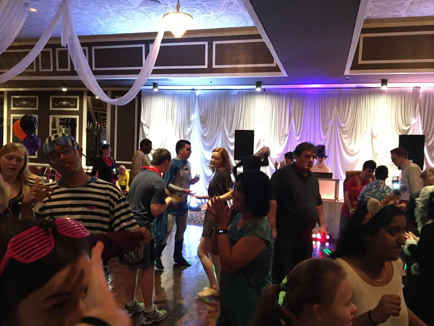 The Halloween Dance brought on by The Special Kids Day Organization starts off with a bang bringing around 20 people to the dance floor. 0ct. 22, 2017