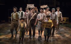 "Drama Club takes ""Newsies"" field trip"