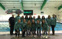Lady Dukes Swim and Dive compete in the 2017 IHSA Sectional Meet