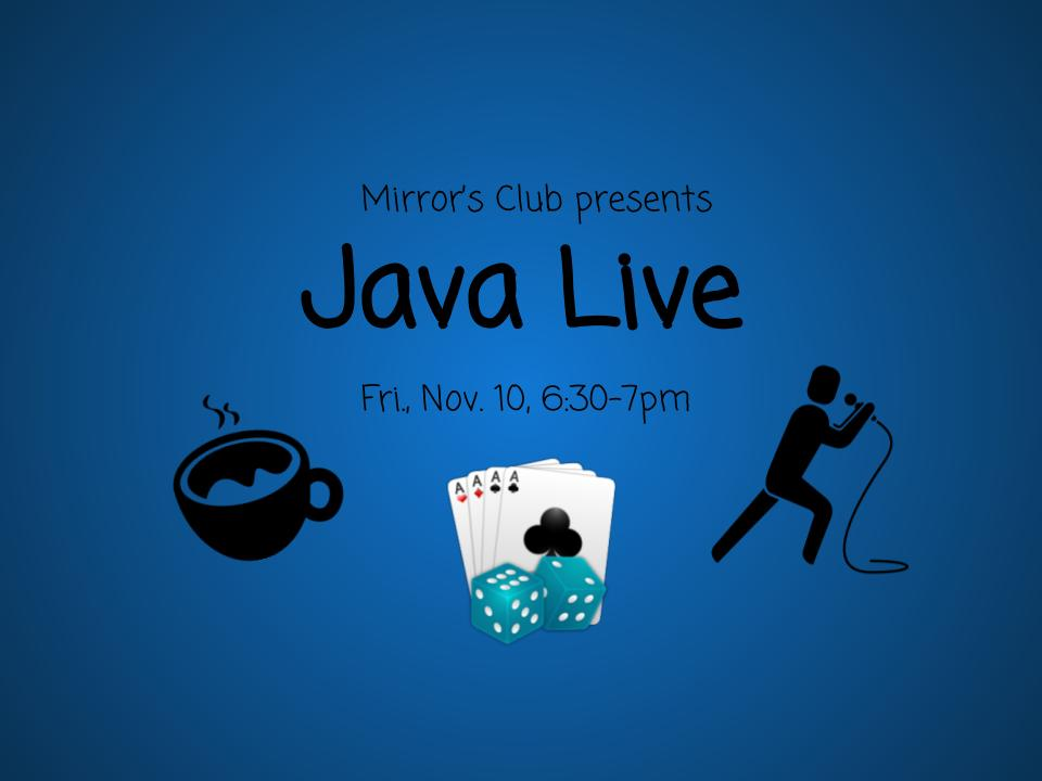Come to Java Live!