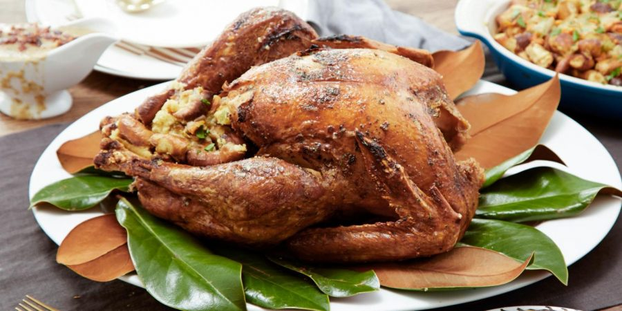 A+dry+turkey+waiting+to+be+carved+and+served+to+people+that+probably+do+not+want+to+eat+it.+