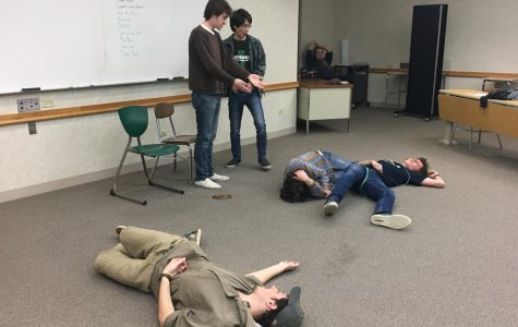 Sketch Comedy Club prepares for their FAW performance