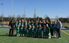 Girls varsity lacrosse takes on Kentucky