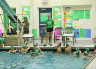 Lady dukes dominate in the pool