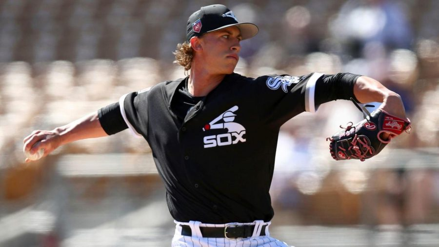 Flamethrower%2C+Michael+Kopech+was+hitting+99+mph+on+the+radar+gun+in+his+first+start+of+the+spring.