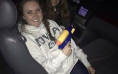 Water you doing with that squirt gun?