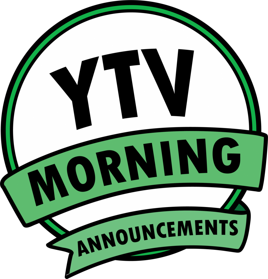 Tuesday, November 20th 2018, Ytv Daily Announcements