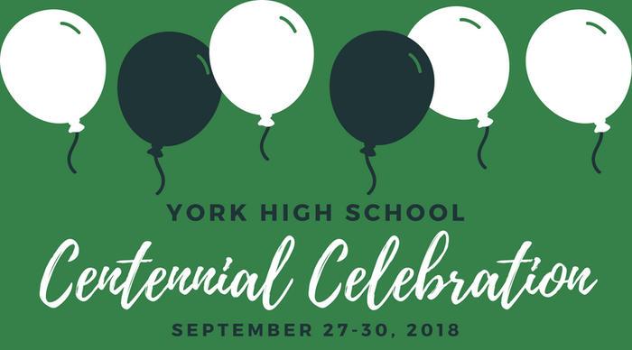 Attend York's centennial celebrations