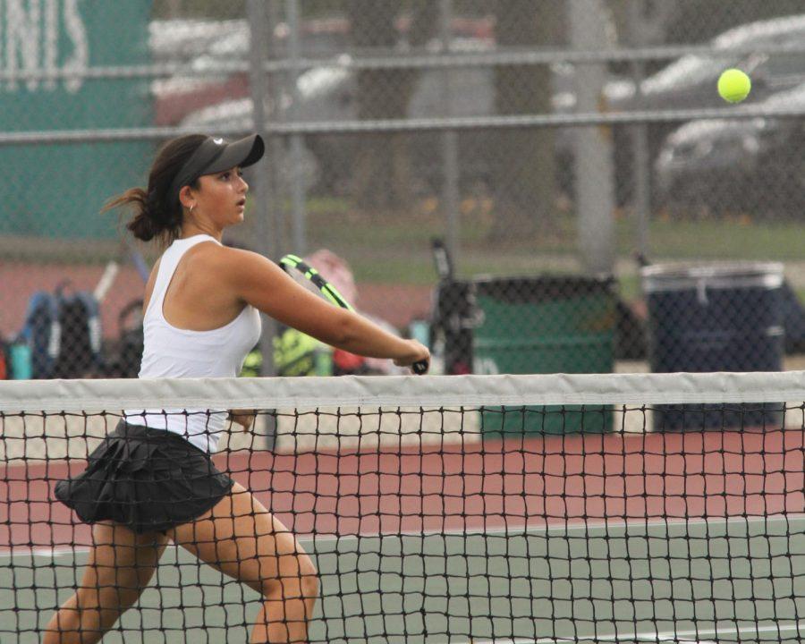 Girls Varsity Tennis season comes to a close