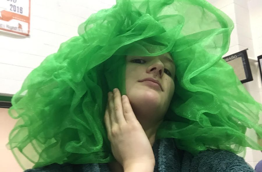 """""""The tutu is an heirloom passed from Katarina Siavelis (last years team captain) which goes to the most spirited team member, so this year I'll pass it down to someone who'll treat it well,"""" said senior Emma Radcliff the current possessor of the tutu."""""""