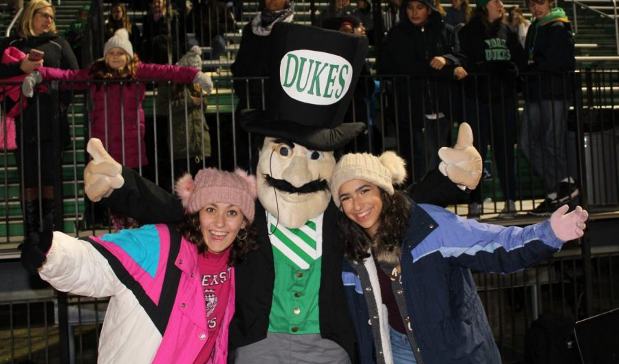 The Dukes dominate on their home field