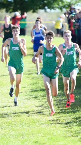 XC sophomores stand out from the pack