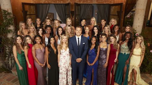 Newest Bachelor Colton and the ladies of his season. (Photo from Bustle)