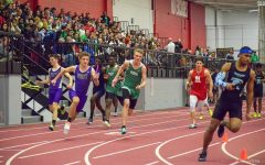 Boys track team dominates early invites