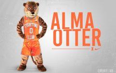 University of Illinois's potential new mascot makes a splash