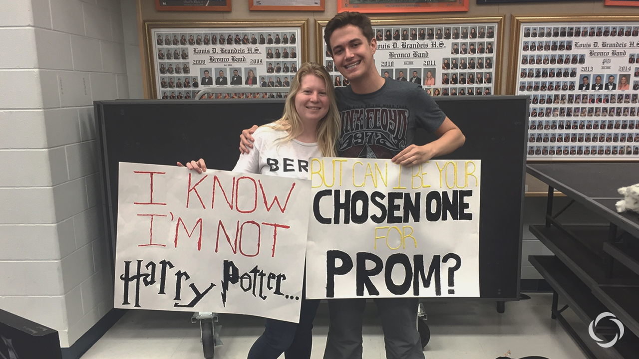 Promposal season is upon us! Share your thoughts about the prom tradition at our survey below. Photo courtesy of lifeteen.com.