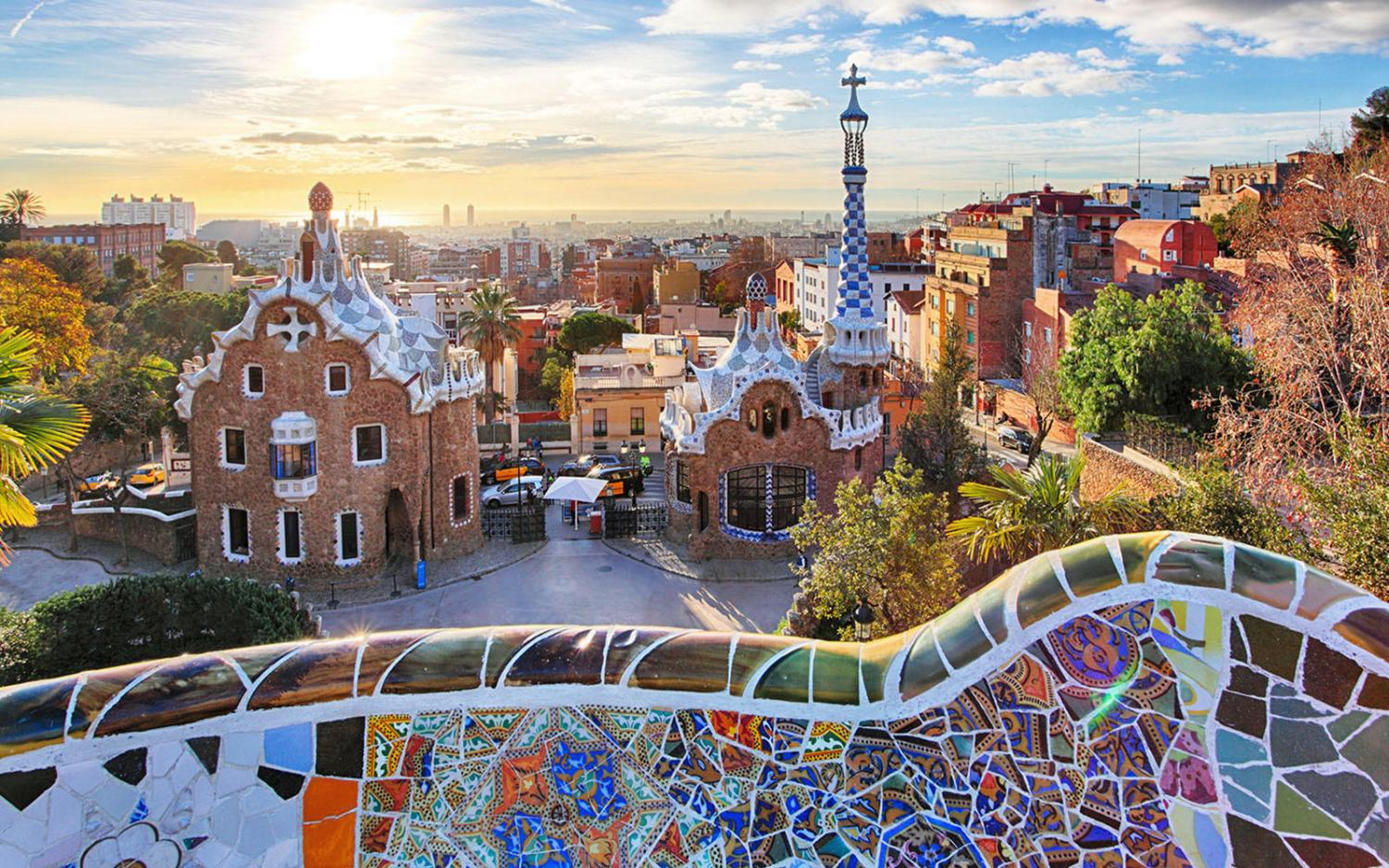 A beautiful overview of Barcelona where current freshman and sophomores