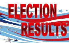 Election results for 2019-2020 school year