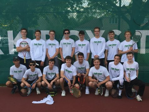 Young players rebuild the boys' tennis team after four years of the class of 2019 serving it