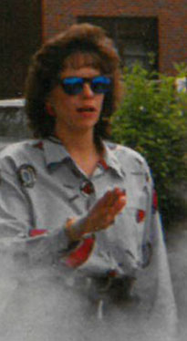 Bonnie Salvo in 1993 at an end of the year picnic. Now, 16 years later, Salvo will be retiring at the end of the 2019 school year.