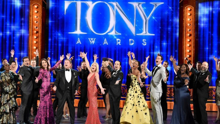 James Corden previously hosted the Tony Awards in 2017.