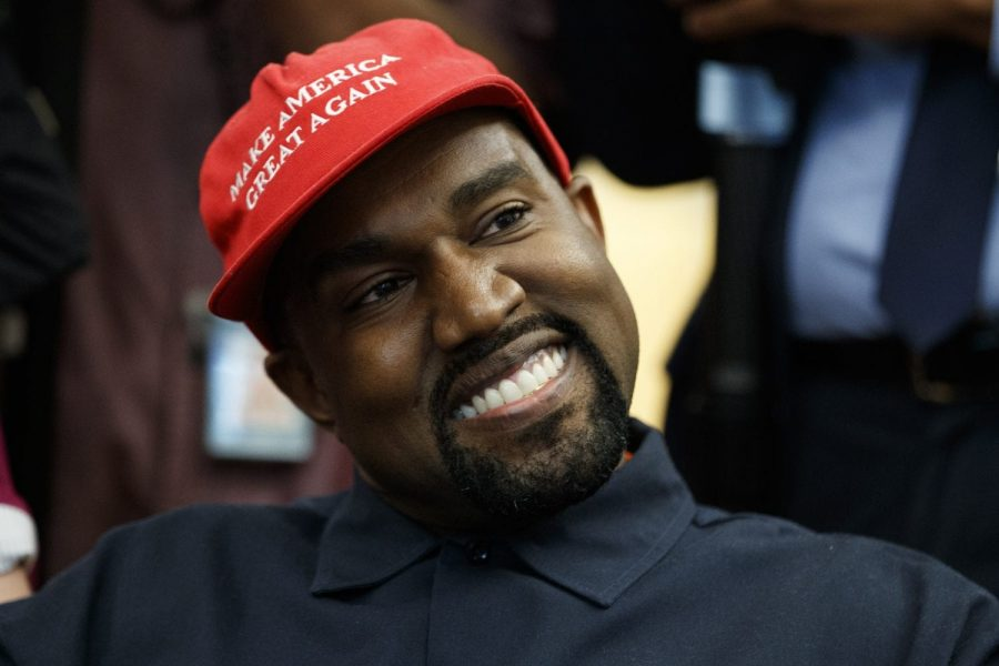 Kanye+West%27s+public+support+of+the+President+has+caused+America+to+ask+some+serious+questions+about+where+their+loyalties+really+lie.