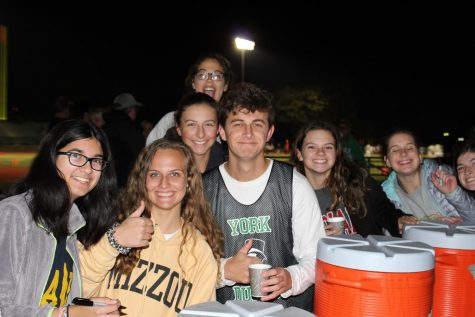 Student Council ends the football season with Hot Chocolate