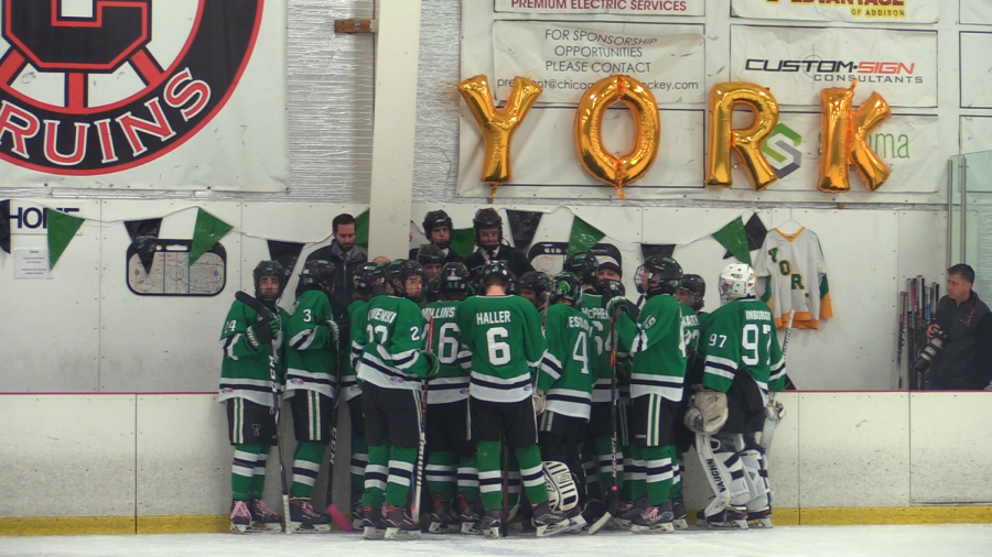 "York Hockey ""checks cancer"" in annual spirit night"